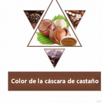 COLOR DE LA CÀSCARA DE CASTANO